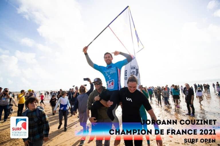 Couzinet champion de France